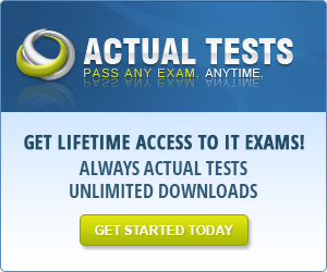 Actual Tests - Lifetime Access to IT Exams