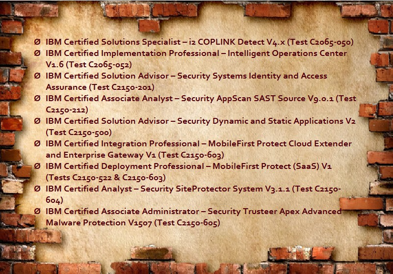 Ibm Security Certification Withdrawal It Certifications Blog