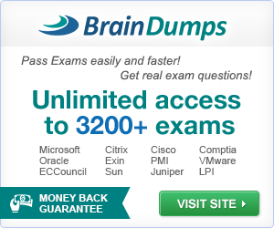 BrainDumps - Get Real Exam Questions