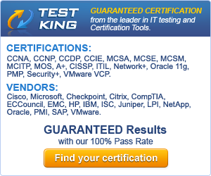 Testking - Latest Certification Exam Questions