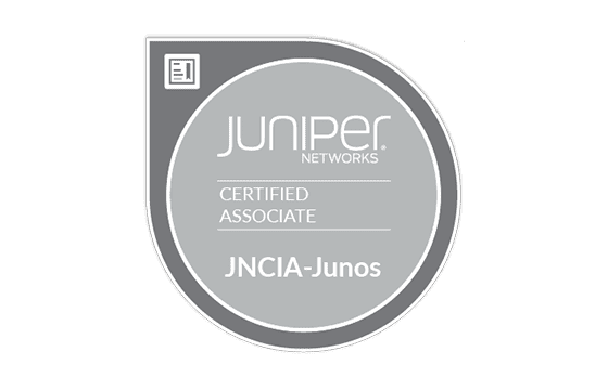 Juniper Networks Certified Associate - Junos Exams