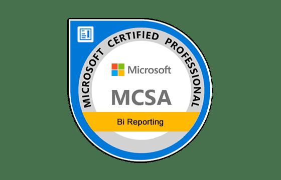 MCSA: BI Reporting Exams