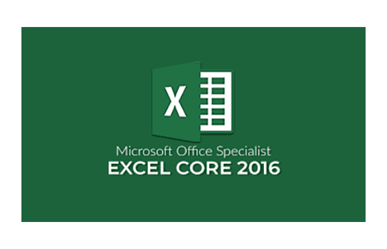 MOS: Excel 2016 Core Exams