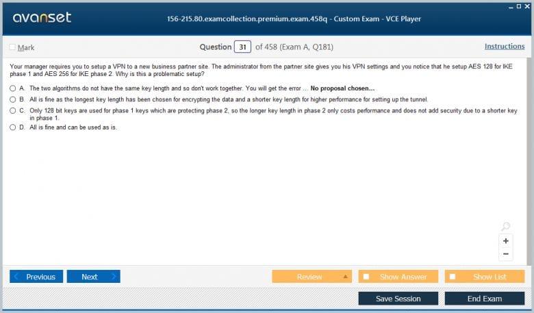 156-215.80 Premium VCE Screenshot #1