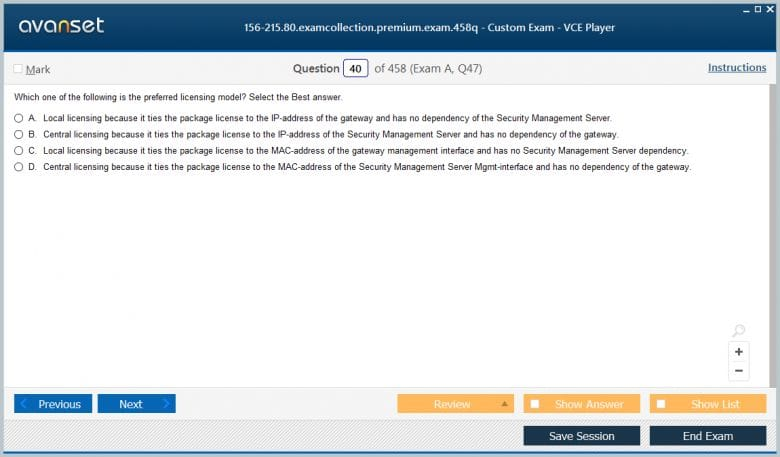 156-215.80 Premium VCE Screenshot #2