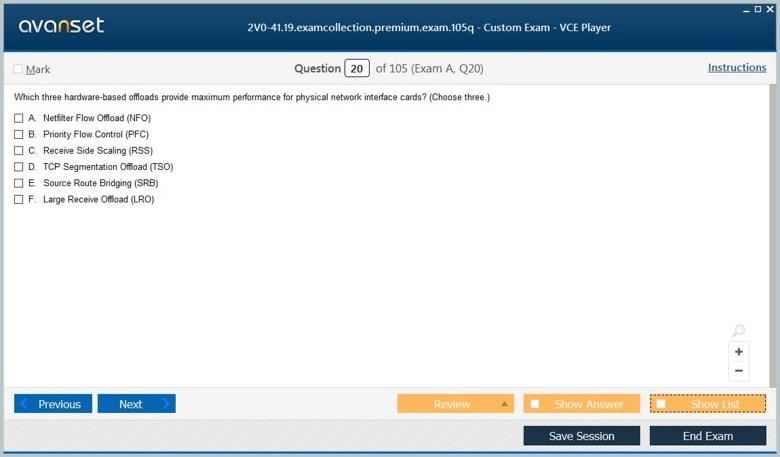 2V0-41.19 Premium VCE Screenshot #2