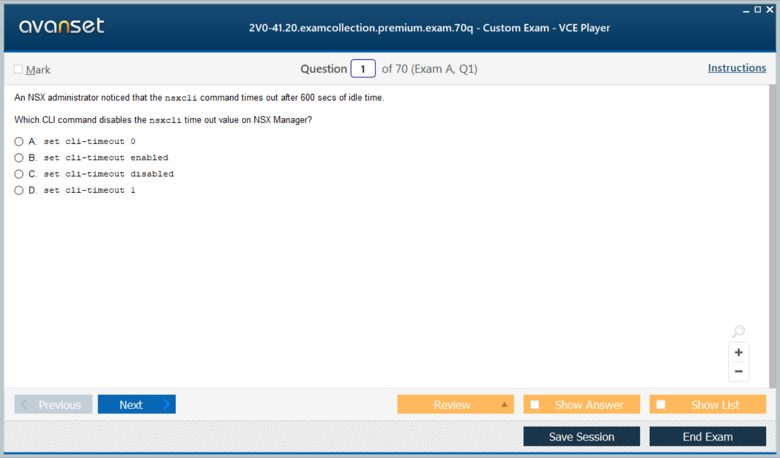 2V0-41.20 Premium VCE Screenshot #1