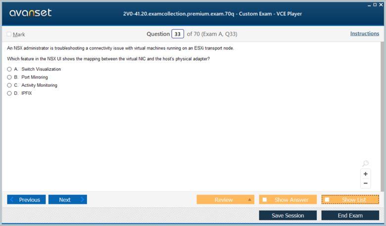 2V0-41.20 Premium VCE Screenshot #3