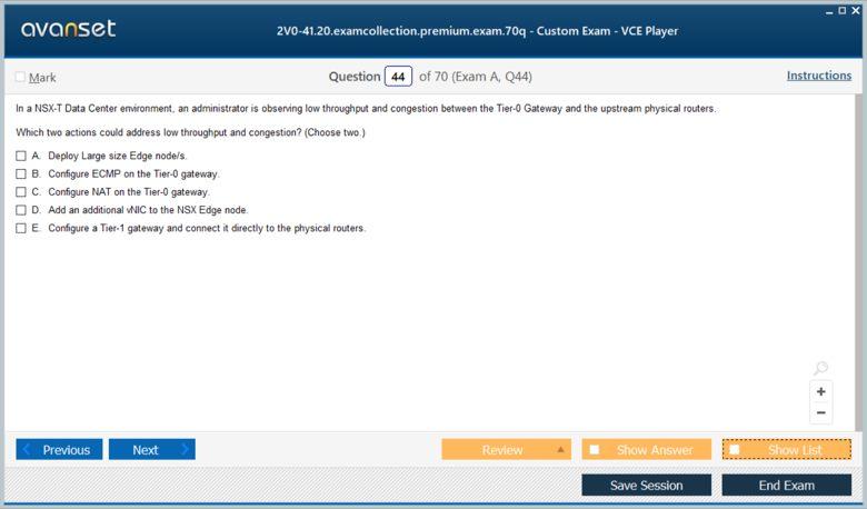 2V0-41.20 Premium VCE Screenshot #4