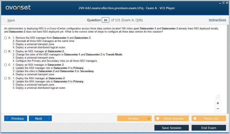 2V0-642 Premium VCE Screenshot #3
