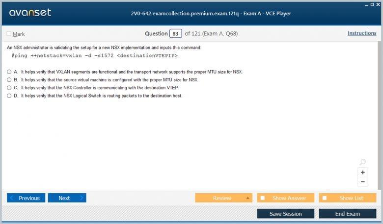 2V0-642 Premium VCE Screenshot #4