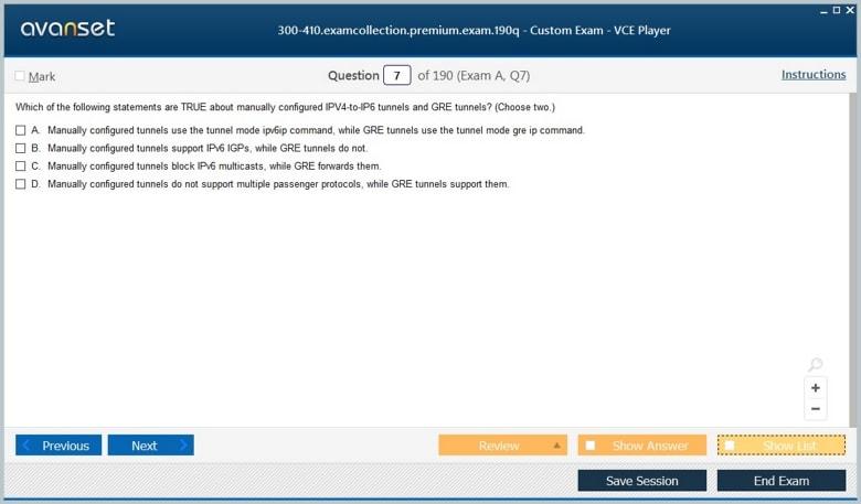 300-410 Premium VCE Screenshot #1