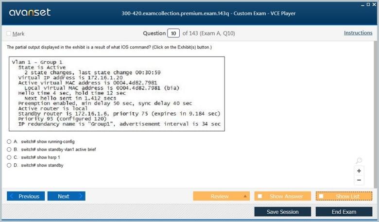 300-420 Premium VCE Screenshot #2
