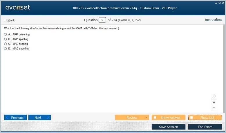 300-735 Premium VCE Screenshot #1