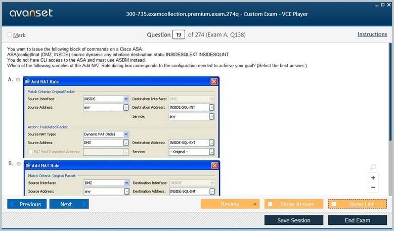 300-735 Premium VCE Screenshot #2