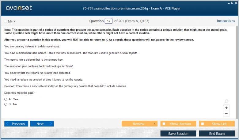 70-761 Premium VCE Screenshot #3