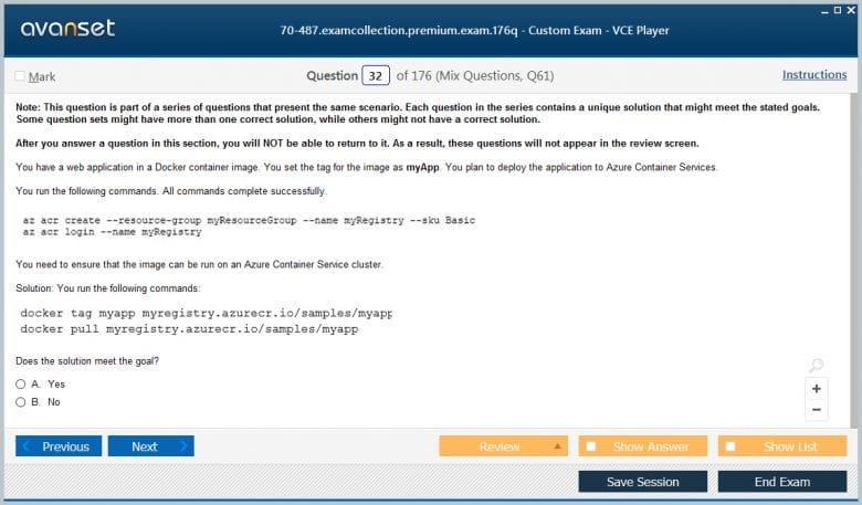 70-762 Premium VCE Screenshot #2