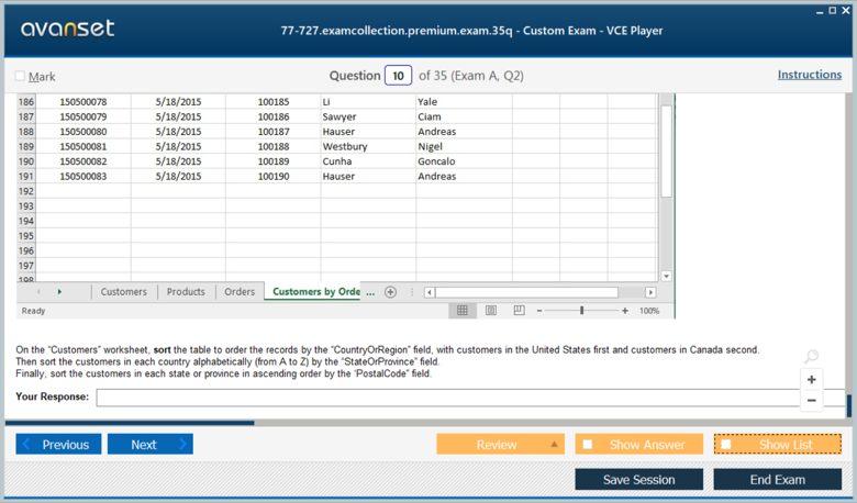 77-727 Premium VCE Screenshot #2