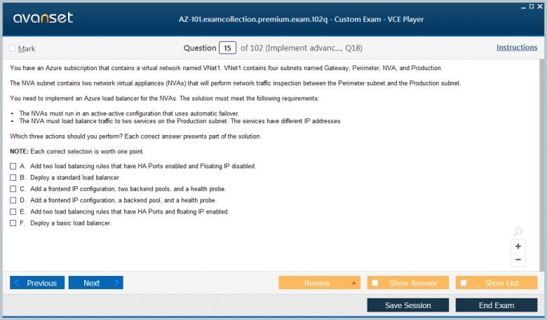 Microsoft Az 101 Practice Test Questions Az 101 Vce Exam