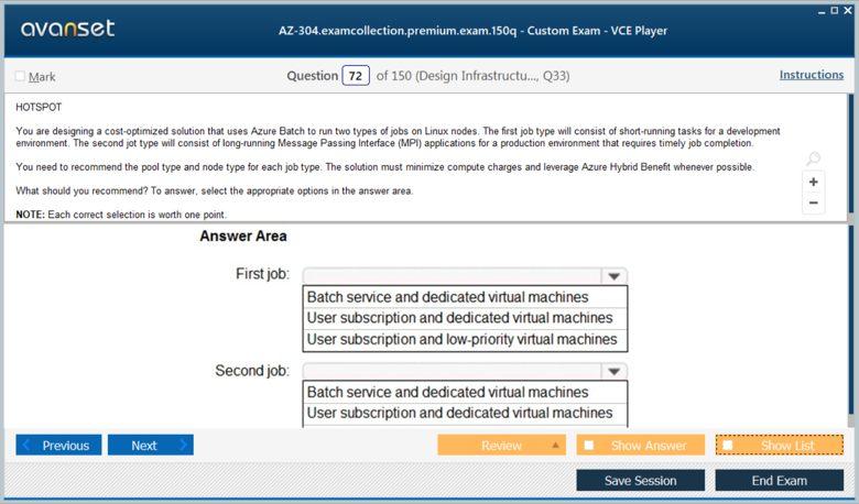 AZ-304 Premium VCE Screenshot #4