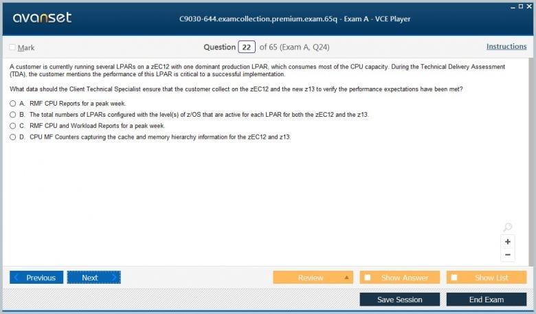 IBM C9030-644 Practice Test Questions - C9030-644 VCE Exam