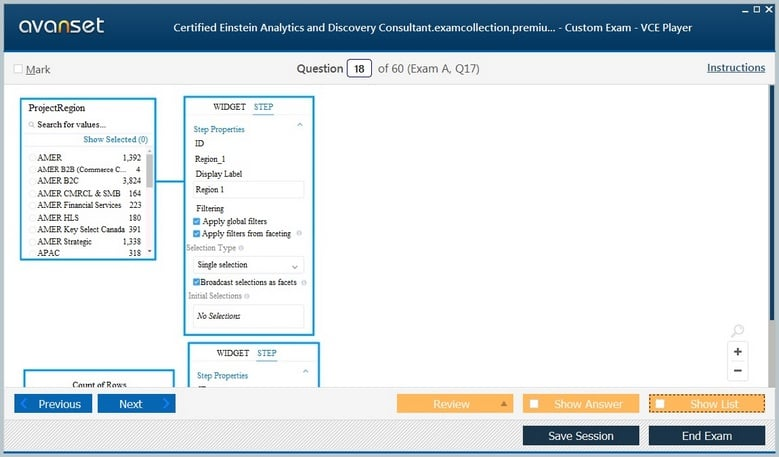 Certified Einstein Analytics and Discovery Consultant Premium VCE Screenshot #2
