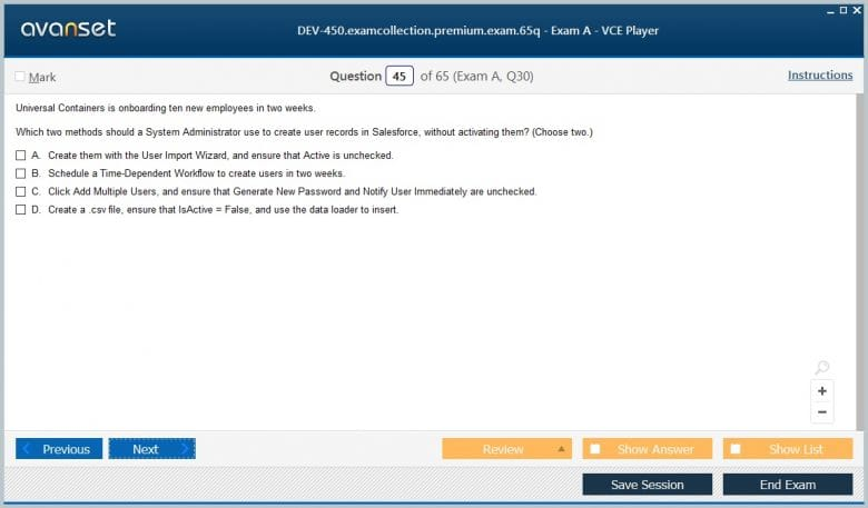 DEV-450 Premium VCE Screenshot #4