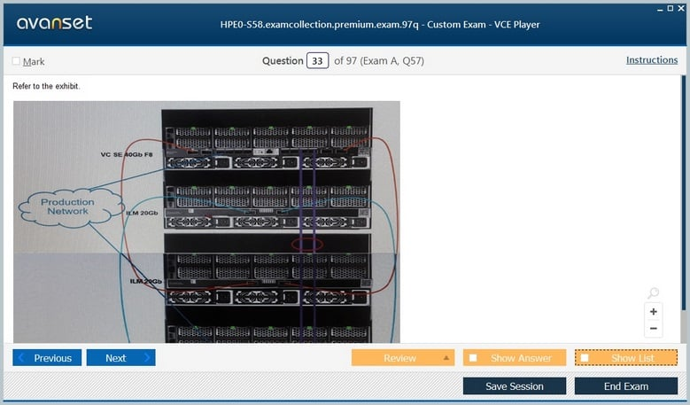 HPE0-S58 Premium VCE Screenshot #4
