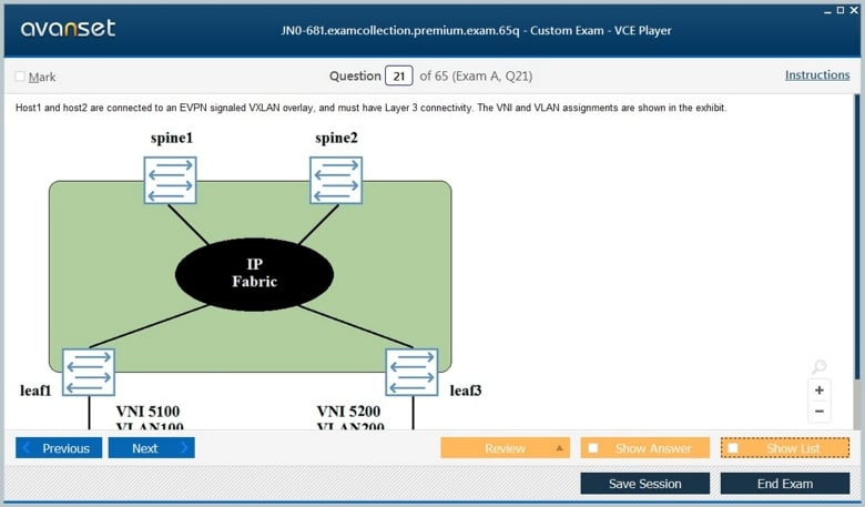 JN0-681 Premium VCE Screenshot #4
