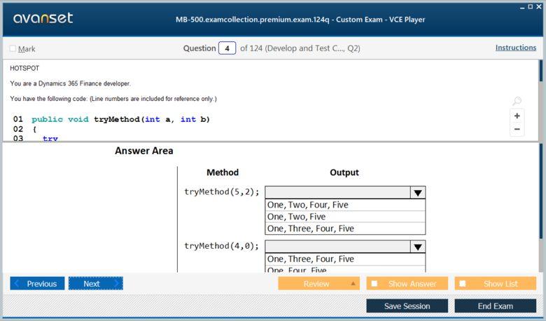 MB-500 Premium VCE Screenshot #1