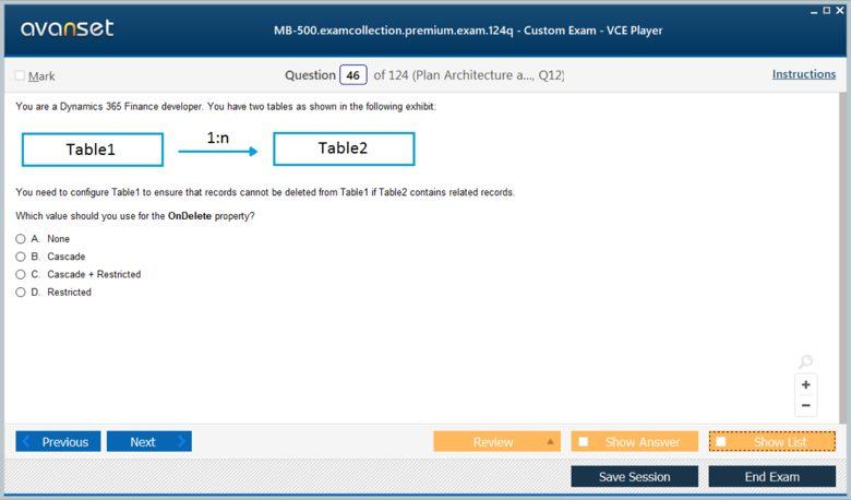 MB-500 Premium VCE Screenshot #4