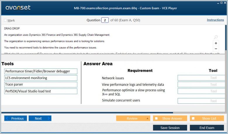 MB-700 Premium VCE Screenshot #1