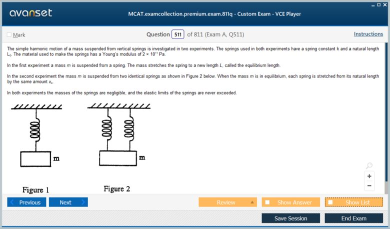 MCAT Test Premium VCE Screenshot #4