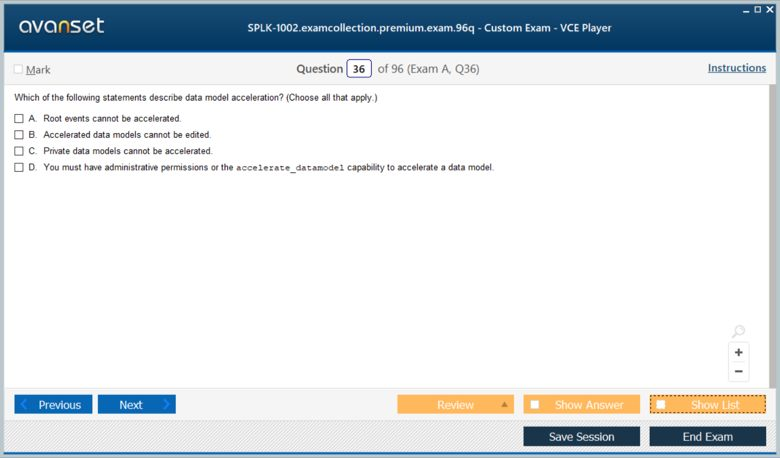 SPLK-1002 Premium VCE Screenshot #3