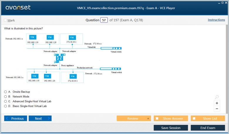 VMCE_V9 Premium VCE Screenshot #1