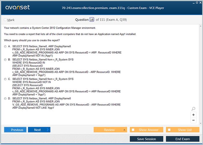 Microsoft 70 243 Practice Test Questions 70 243 Vce Exam Dumps