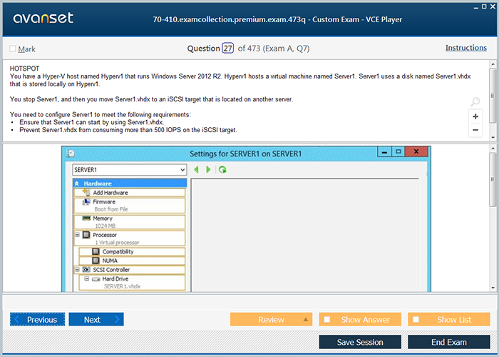 Microsoft Mcsa 70 410 Practice Test Questions 70 410 Vce Exam