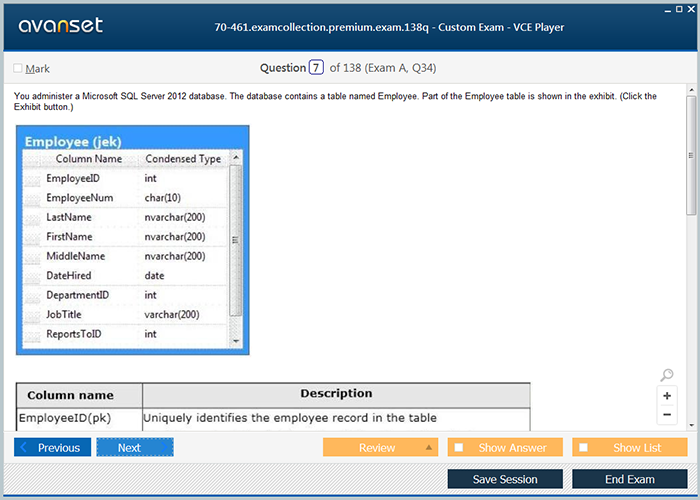 Microsoft Mcsa 70 461 Practice Test Questions 70 461 Vce Exam