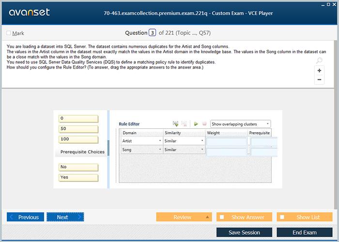 Microsoft Mcsa 70 463 Practice Test Questions 70 463 Vce Exam