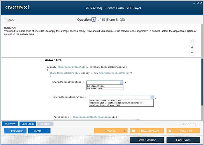 Microsoft Mcsa 70 532 Practice Test Questions 70 532 Vce Exam