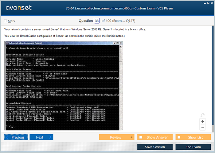 Download TestKing Q and A - Microsoft 70-642 1.0 for free