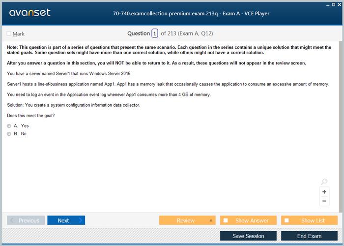 Microsoft Mcsa Windows Server 2016 Certification Exam Dumps Mcsa