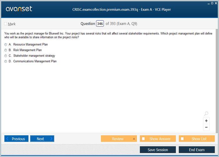 Isaca CRISC Practice Test Questions - CRISC VCE Exam Dumps ...
