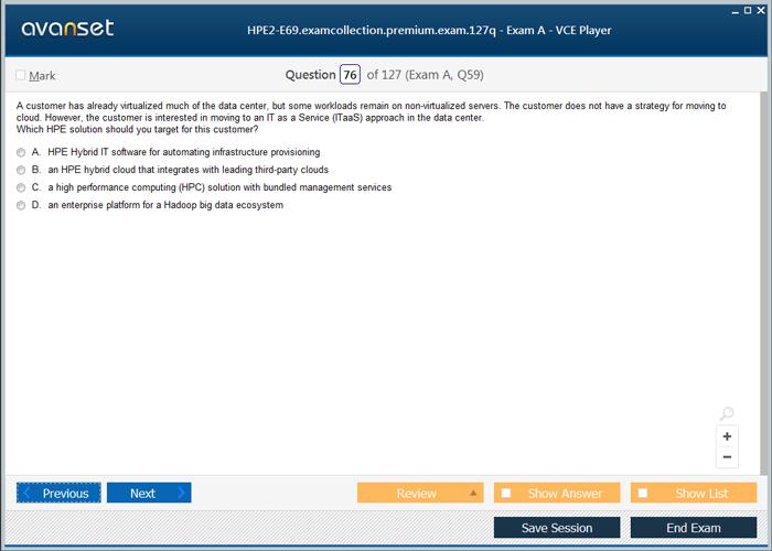 Hp Hpe2 E69 Practice Test Questions Hpe2 E69 Vce Exam Dumps