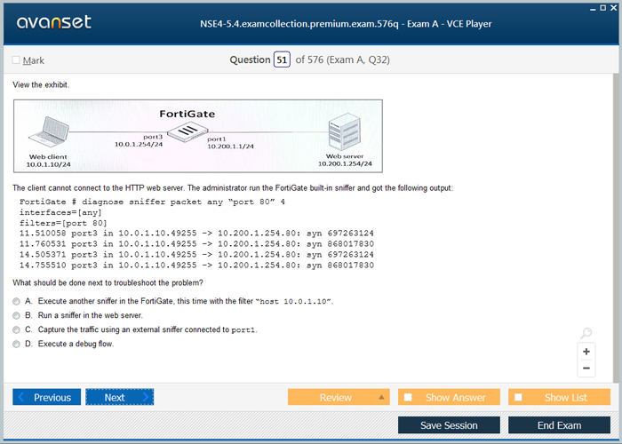 Fortinet NSE4-5.4 Practice Test Questions - NSE4-5.4 VCE Exam Dumps ...