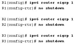 How to Configure and Verify EIGRP for IPv6